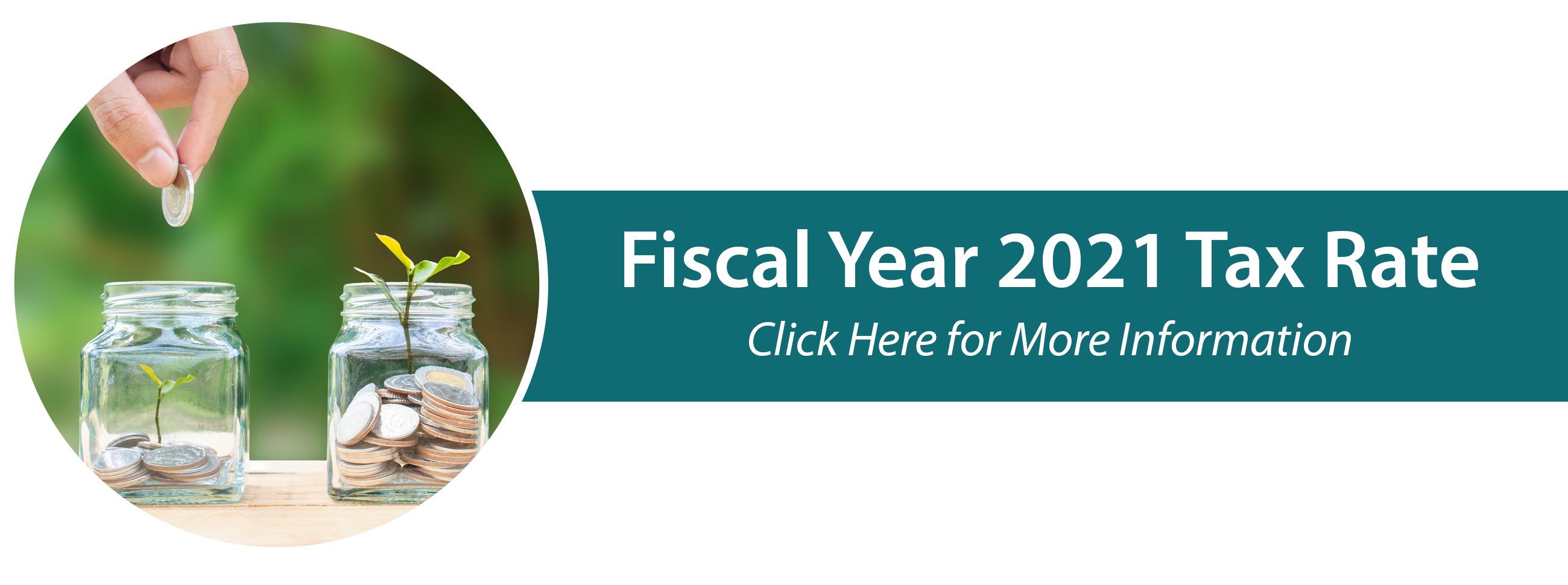 Fiscal Year 2021 Tax Rate: Click here for more information