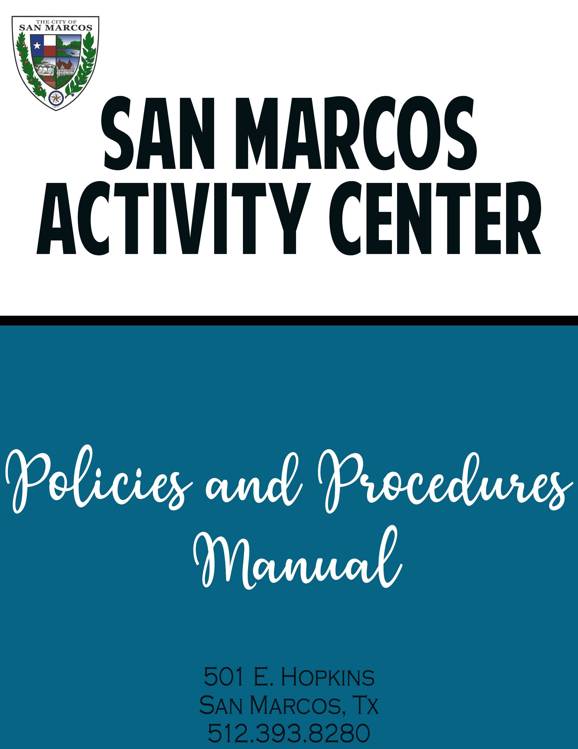 policies and procedures cover page