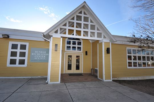 front view of Dunbar Recreation Center